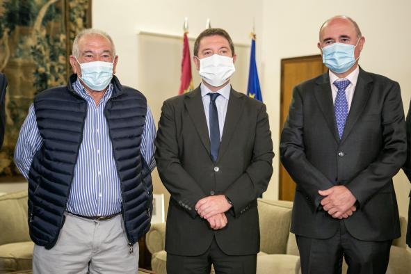 Reunión con el presidente de la Federación de Comunidades de Regantes de Castilla-La Mancha