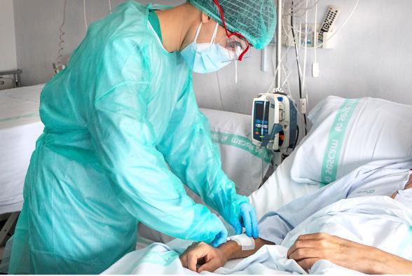 Castilla-La Mancha presenta el menor número de hospitalizados COVID en cama convencional desde el 17 de julio, en una nueva jornada sin fallecidos