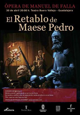 Cartel Retablo Maese Pedro
