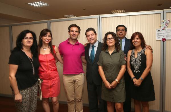 Toma de posesión Javier Nicolas como delegado de la Junta de Castilla La Mancha
