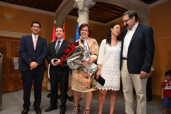 Toma de posesión de la nueva delegada de la Junta en Ciudad Real, Carmen Teresa Olmedo.