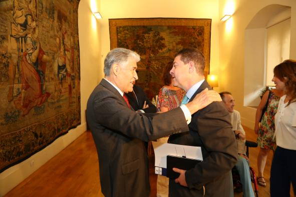 Reunión del Presidente García-Page con responsables del CERMI