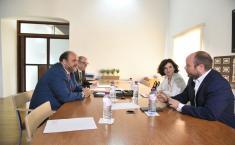 Reunión con el coordinador de Ciudadanos en CLM