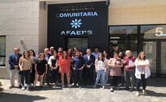 El director general de Trabajo, Formación y Seguridad Laboral en funciones, conoce las actividades de los centros de formación de El Sembrador y Afaeps, en Albacete