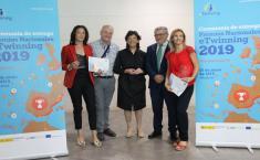 El consejero de Educación, Cultura y Deportes asiste a la entrega de los Premios Nacionales Twinning