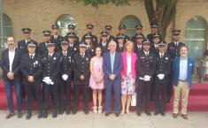 18 policías locales de la provincia de Ciudad Real superan los cursos de formación inicial y ascenso organizado por el Gobierno regional
