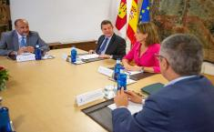 Reunión con la ministra para la Transición Ecológica