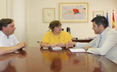 El Gobierno de Castilla-La Mancha apoyará al Ayuntamiento de Campo de Criptana en el proyecto de un nuevo Auditorio municipal