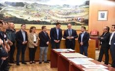 El presidente García-Page y el presidente del Gobierno en funciones, Pedro Sánchez, visitan las zonas de Almansa afectadas por el temporal
