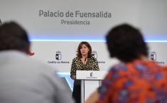Rueda de prensa del Consejo de Gobierno Blanca Fernández (II)