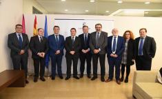 Reunión de la Comisión de Seguimiento de las Obras del Hospital de Albacete (II)