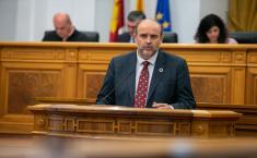 Pleno de las Cortes regionales 12D (Martínez Guijarro)