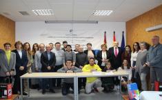 El Gobierno de Castilla-La Mancha facilita la integración laboral de nueve personas con discapacidad en Socuellamos