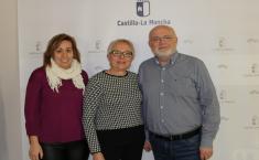 Reunión con la alcaldesa de Tobarra por las Jornadas de Exaltación del Tambor y el Bombo