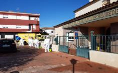 Plan de Limpieza de GEACAM en residencias y centros sociosanitarios Manchuela y Campos de Hellín