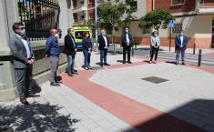 Concentración y minuto de silencio de la Junta en Albacete