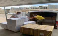 Envío de material de protección en las 4 gerencias de atención integrada de Albacete