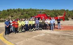 El Gobierno de Castilla-La Mancha informa que se han reducido un 72 por ciento las hectáreas afectadas por los incendios forestales, e incide en extremar las precauciones en lo que resta de verano