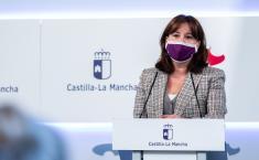 Rueda de prensa del Consejo de Gobierno, Blanca Fernández (I)
