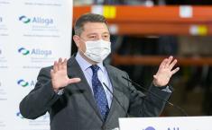 Inaugura la ampliación de la Plataforma Farmacéutica ALLOGA en Borox (Presidente)