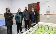 Acto de inauguración del Centro Joven de Hoya Gonzalo