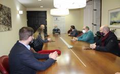 Reunión JCCM y Juntas de Cofradías de la Semana Santa de Albacete