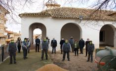 Visita delegado de la Junta al nuevo RECUAL en Tarazona
