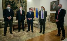 Firma de convenio de colaboración con la Federación Española de Espirituosos (Agricultura)