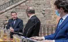 El presidente de Castilla-La Mancha participa en el encuentro institucional sobre despoblación junto a sus homólogos de Aragón y Castilla y León