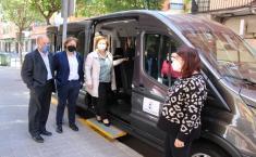 Lantana adquiere una furgoneta para facilitar el traslado de personas con diversidad funcional con una ayuda del Gobierno de Castilla-La Mancha