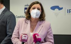 La consejera de Economía, Empresas y Empleo, Patricia Franco, preside la reunión del Consejo de Administración del Instituto de Promoción Exterior de Castilla-La Mancha.