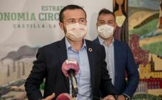 El consejero de Desarrollo Sostenible, José Luis Escudero, inaugura la Jornada 'Etiqueta Ecológica de la Unión Europea. La contribución del ecoetiquetado a la Economía Circular'.
