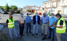 El Gobierno de Castilla-La Mancha inicia los trabajos de mejora del firme de la CM-4174 Travesía de Pozuelo de Calatrava