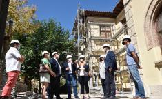 El vicepresidente de Castilla-La Mancha, José Luis Martínez Guijarro, visita las obras del CEIP 'Santa Teresa' de Cuenca