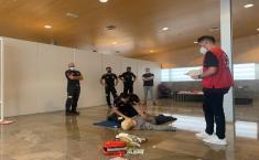 Curso DEA y RCP en la Fábrica de Harinas de Albacete