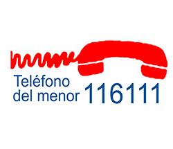 Teléfono de Atención al Menor 116111